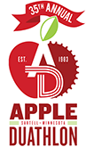 Apple Duathlon logo